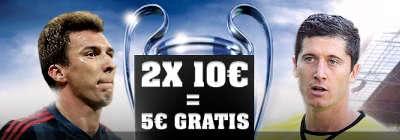 5 Euro Gratiswette zur Champions League von Youwin
