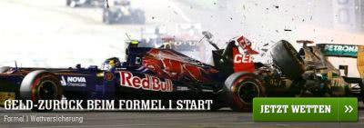 Formel 1 Bonus von Youwin bis 50 Euro holen