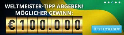 Jetzt 100.000 Euro gewinnen mit dem Sportingbet Weltmeister Tipp