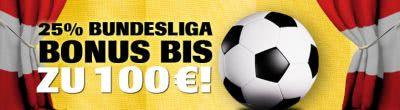 Interwetten Einzahlungsbonus zum Bundesligastart