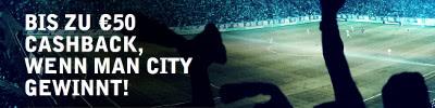 Cashback Bonus von Betsafe zur Premier League bis 50 Euro