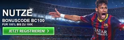 10Bet Bonus exklusiv 100% bis 100 €