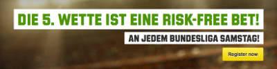 Unibet Risk Free Bet zur Bundesliga