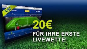 mybet Livewetten Bonus bis 20 €