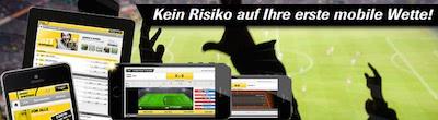 Interwetten Mobile Bonus bis 25 Euro