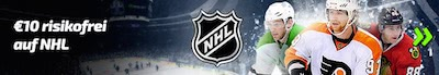 Mobilbet Cashback Bonus zur NHL