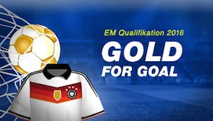 mybet Gold for Goal Aktion EM Quali