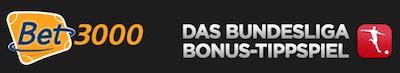 Bet3000 Bundesliga Tippspiel 10 Euro Freebet