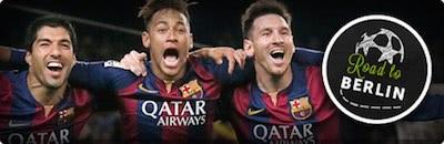 ComeOn Cashback Bonus zur Champions League