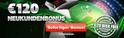 LSbet Bonus 120 Euro plus risikofreie Wette holen