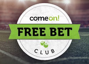 ComeOn Freebet Club Banner