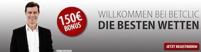 Betclic Neukundenbonus Banner