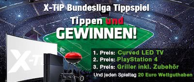 X-Tip Bundesliga Tippspiel Banner