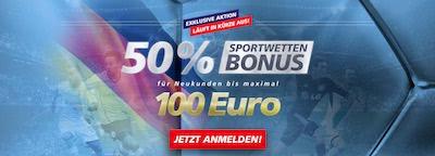 Sportingbet Bonus 100 Euro Banner