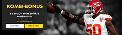 Bet365 Kombiwetten Bonus mit Super Bowl