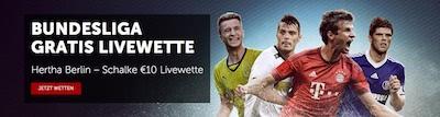 Betsafe Gratis Livewette Hertha vs Schalke