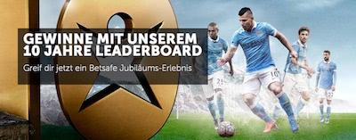Betsafe Jubiläums Leaderboard