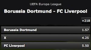 Bwin Quoten Dortmund gegen Liverpool
