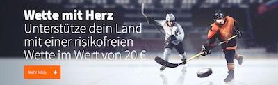 Betsson Risikofreie Wette zur Eishockey WM