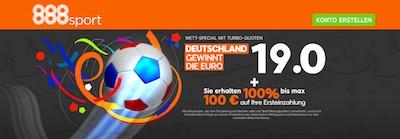 888sport EM Bonus mit Deutschland Wette