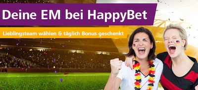 HappyBet EM 2016 Favoriten Aktion