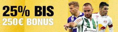 Interwetten Reload Bonus zum Bundesligastart