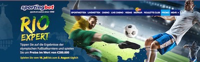 Sportingbet Rio Expert Gewinnspiel