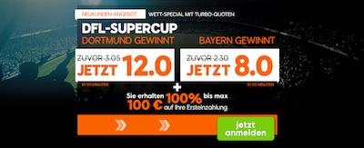 888sport Neukundenbonus zum DFL Supercup