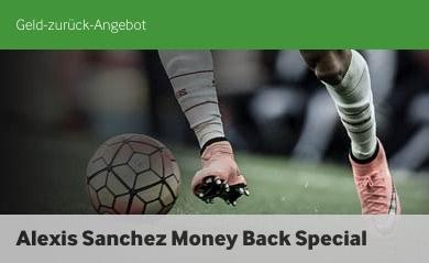 Betway Alexis Sanchez Spezial zu Arsenal Chelsea