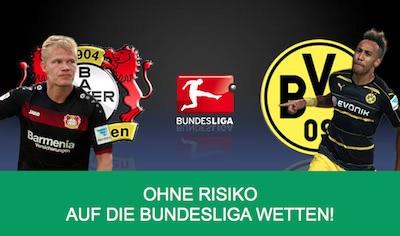 Kulbet Risk Freebet zum Spiel Leverkusen vs Dortmund