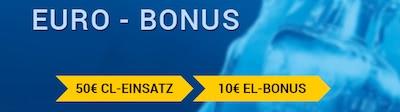 XTiP Bonusguthaben zur Europa League