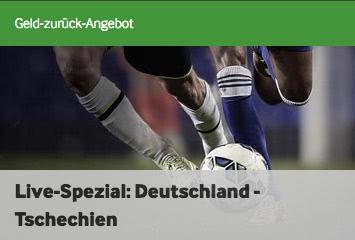betway cashback zu Deutschland Tschechien