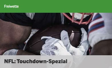 Betway NFL Touchdown Aktion