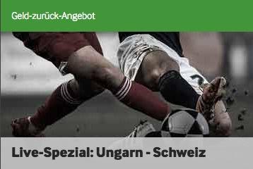 Betway Cashback zu Ungarn - Schweiz WM Quali 2018