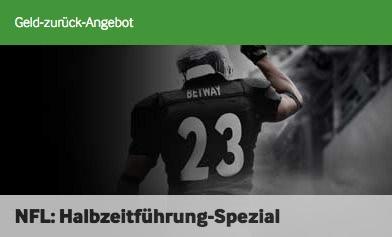 Betway Habzeitführung Spezial zur NFL