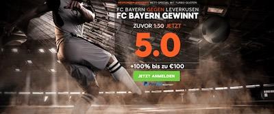 888sport quotenboost bayern leverkusen