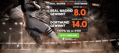 888sport preisboost real bvb