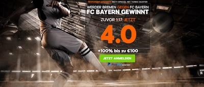 888sport Preisboost Werder Bayern