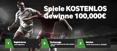 Betway 100.000 Euro Tippspiel