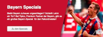Tipico Bayern Spezialwetten