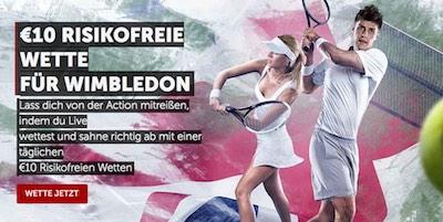 Betsafe Wimbledon - 10 Euro Freebet