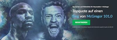 Betvictor Promo zum Kampf Mayweather vs McGregor