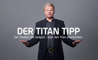 Tipico Titan Tipp mit 100.000 Euro Jackpot