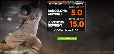 888sport Barcelona gegen Juventus - CL