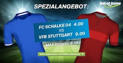 Bet-at-home Aktion zum BL Spiel Schalke - Stuttgart