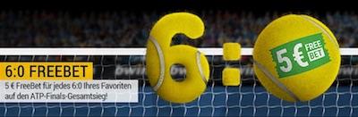 Bwin Freebets zu den ATP Finals