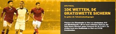 Betfair Freiwette Bayern gegen Dortmund