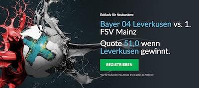 Betvictor Boost Leverkusen gegen Mainz