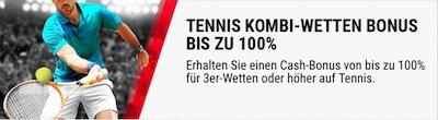 Betstars Kombi-Bonus Tennis