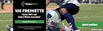 Betway Freiwette zum Super Bowl